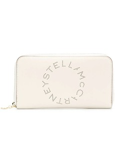 Stella McCartney perforated logo wallet