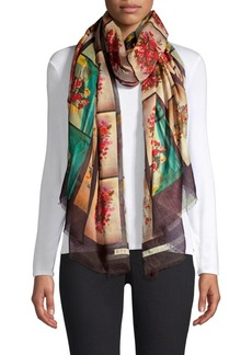 Stella McCartney Photo Print Scarf