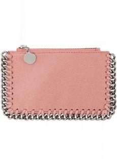 Stella McCartney Pink Falabella Zip Card Holder