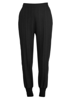 Stella McCartney Pinstripe Pull-On Trousers
