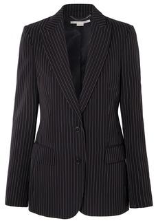 Stella McCartney Pinstriped Wool-twill Blazer