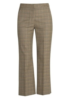 Stella McCartney Prince of Wales Check Cropped Trousers