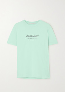Stella McCartney Printed Organic Cotton-jersey T-shirt