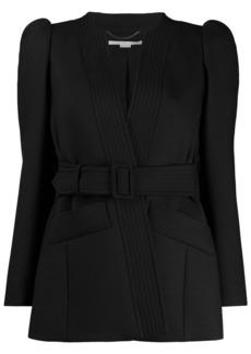 Stella McCartney puffed-shoulder belted jacket