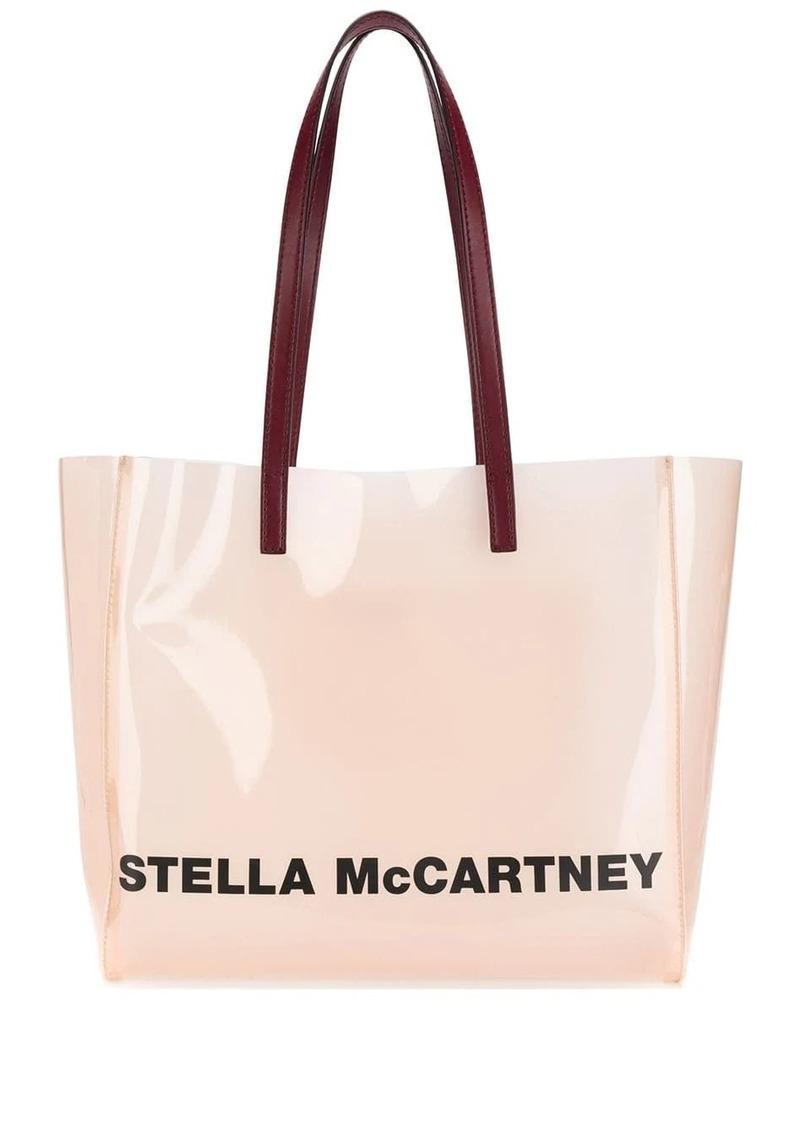 Stella McCartney PVC logo tote