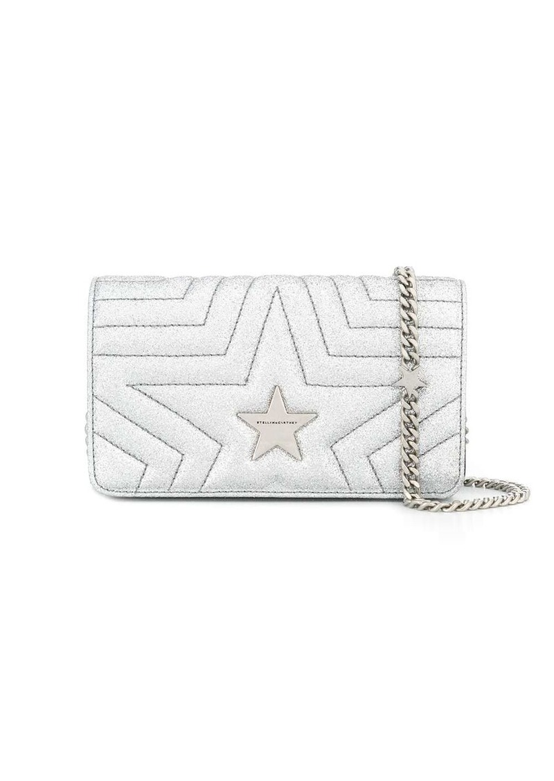 Stella McCartney quilted star cross-body bag