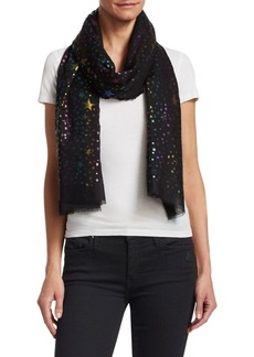Stella McCartney Silk, Cashmere & Wool Scarf