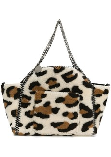 Stella McCartney reversible faux shearling tote