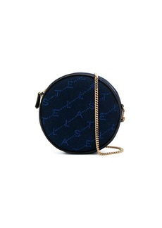 Stella McCartney round monogram crossbody bag
