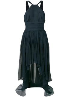 Stella McCartney ruched halterneck dress