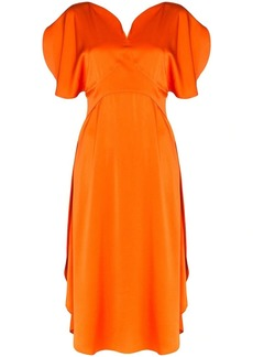 Stella McCartney ruched midi dress