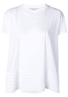 Stella McCartney ruffle detail t-shirt