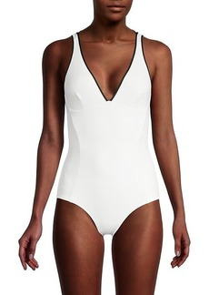 Stella McCartney Ruffled One-Piece Swimsuit