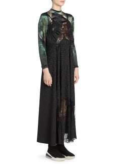 Stella McCartney Rya Silk Jacquard Maxi Dress