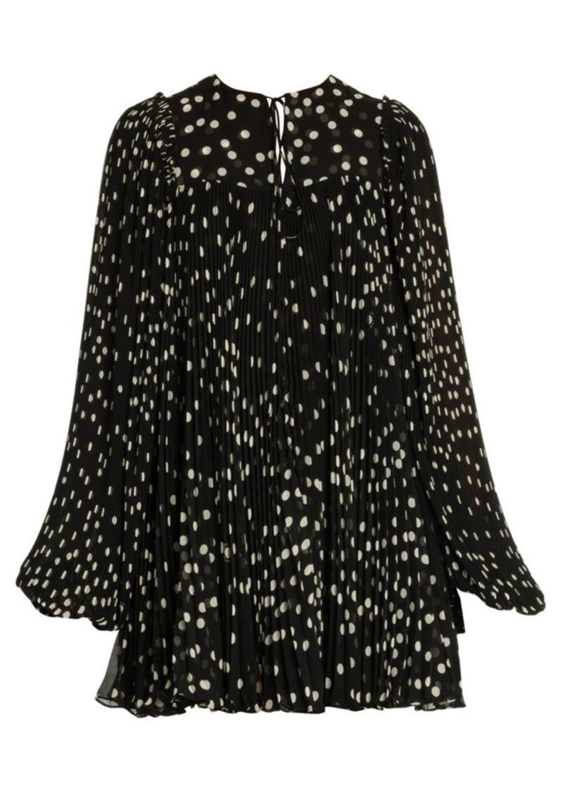 Stella McCartney Scattered Polka Dot Babydoll Dress
