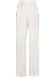 Stella McCartney Silk High Waisted Trousers