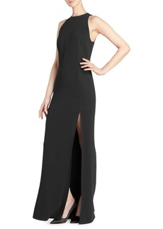 Stella McCartney Sleeveless Gown with Removable Cape