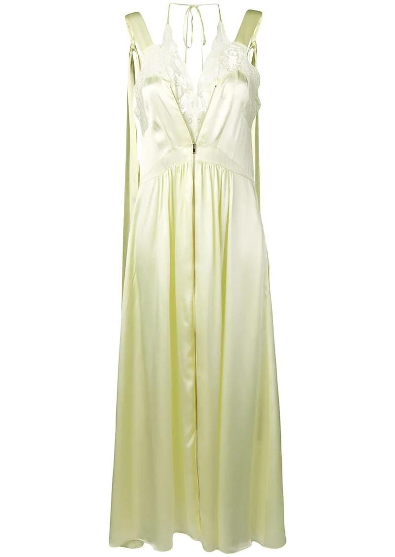 Stella McCartney sleeveless satin dress