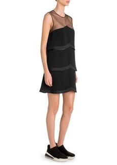 Stella McCartney Sleeveless Tier Cocktail Dress