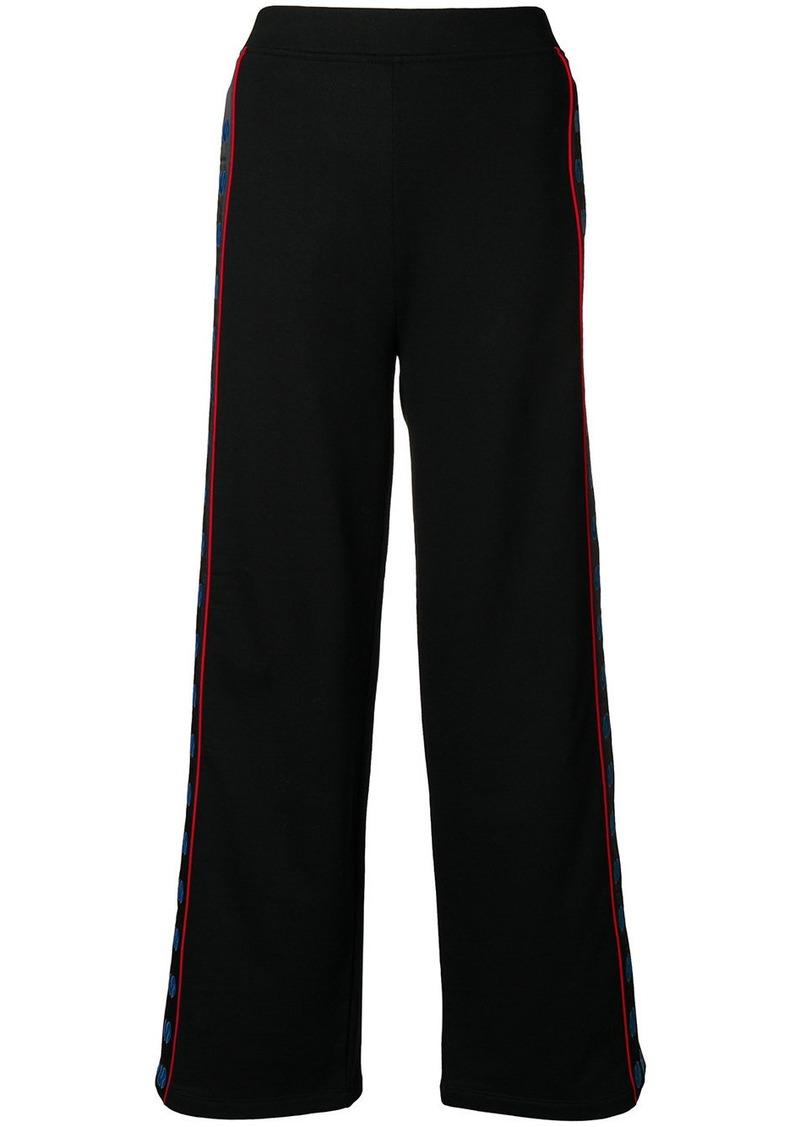 Stella McCartney wide logo trousers
