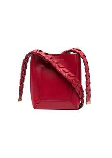 Stella McCartney small braided-strap crossbody bag