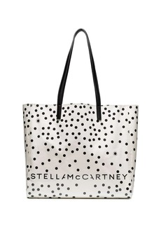 Stella McCartney small spotted tote bag