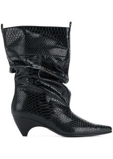 Stella McCartney snake-effect boots