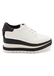 Stella McCartney Sneak-Elyse Stars Platform Wedge Sneakers