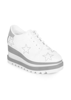 Stella McCartney Sneak-Elyse Studded Star Sneakers