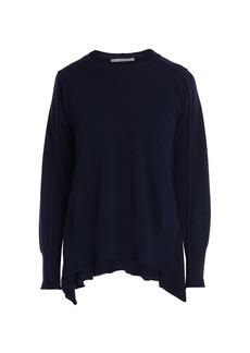 Stella McCartney Soft Shape Cashmere & Wool Knit Vented Sweater