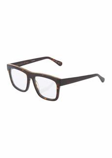 Stella McCartney Square Chain-Trim Acetate Optical Glasses