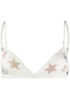 Stella McCartney star-embellished bikini top