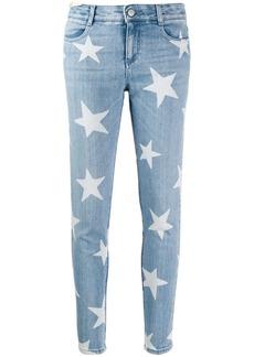 Stella McCartney star motif skinny jeans