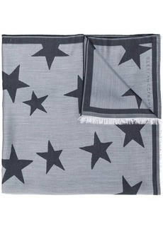 Stella McCartney star patterned scarf