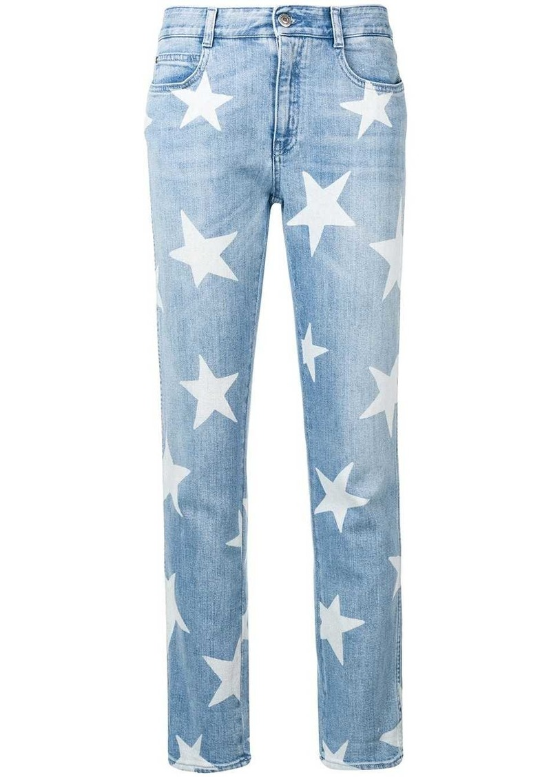 Stella McCartney star print jeans