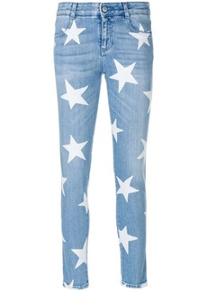Stella McCartney star-print skinny jeans