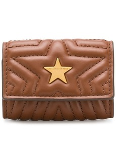Stella McCartney star quilted key case