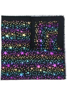 Stella McCartney stars metallic fil coupé scarf