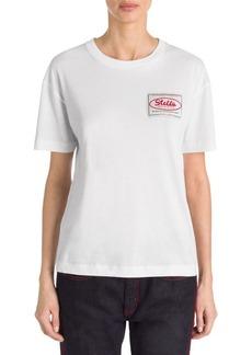 Stella McCartney Stella Badge Patch T-Shirt
