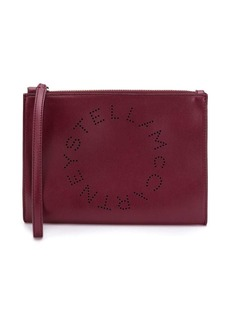 Stella McCartney Stella Logo clutch bag