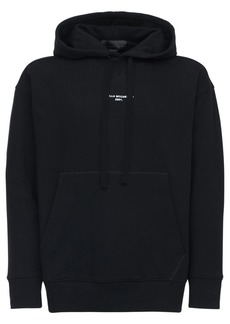 Stella McCartney Stella Logo Cotton Sweatshirt Hoodie
