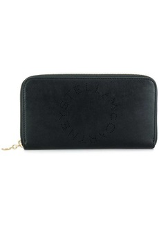 Stella McCartney Stella logo zip wallet