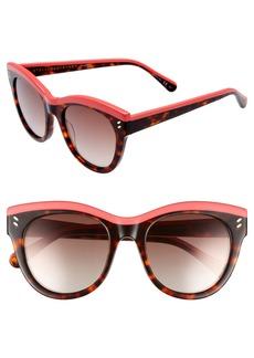 Stella McCartney 51mm Cat Eye Sunglasses