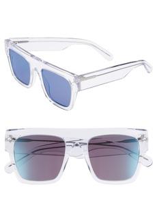 Stella McCartney 51mm Flattop Sunglasses