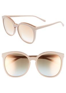 Stella McCartney 59mm Cat Eye Sunglasses