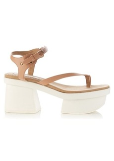 Stella McCartney Altea faux-leather block-heel platform sandals