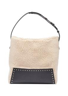 Stella McCartney Alter Faux-Shearling Hobo Bag