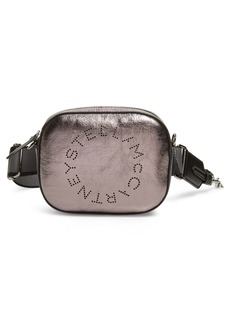 Stella McCartney Alter Metallic Faux Leather Belt Bag