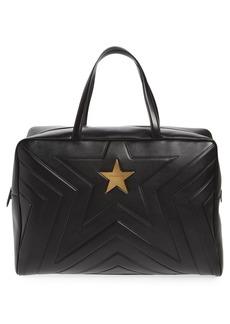 Stella McCartney Alter Nappa Faux Leather Overnight Duffel