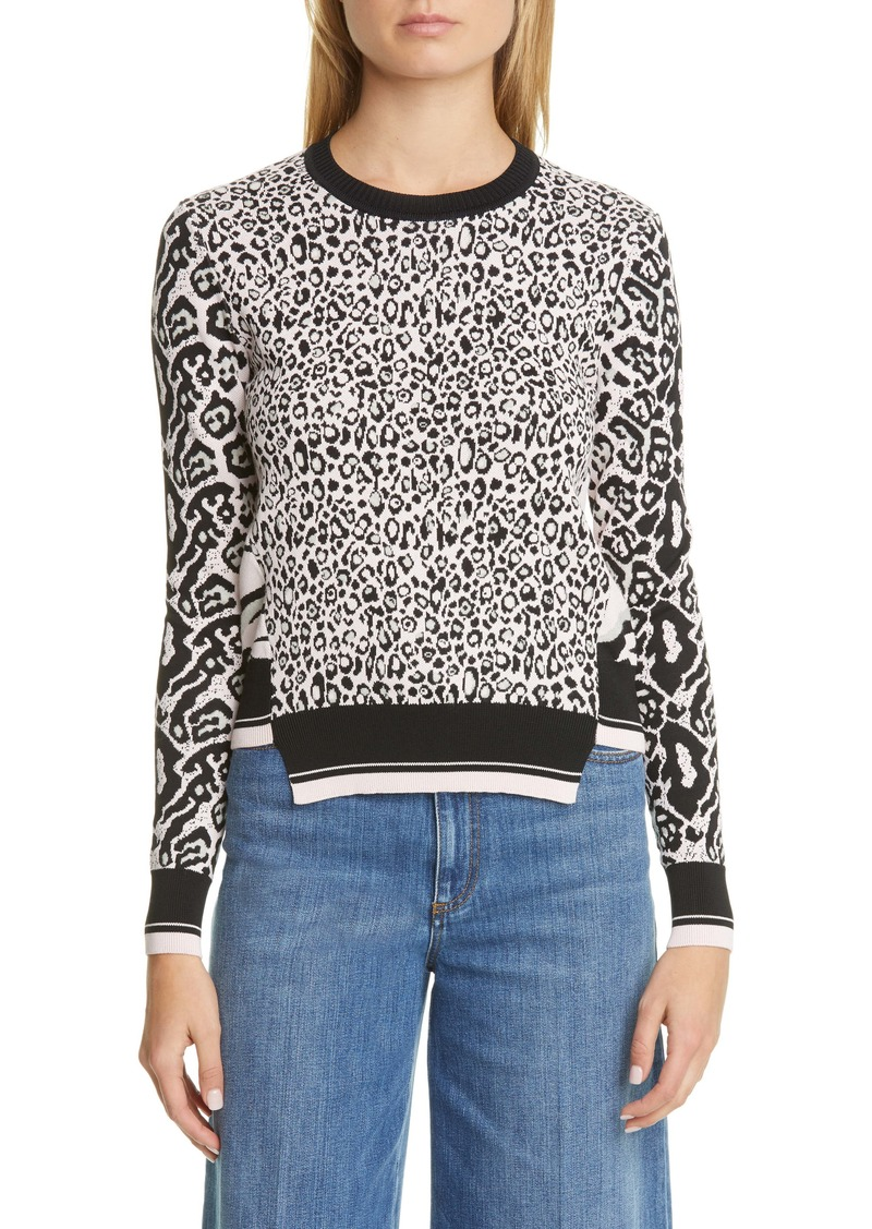 Stella McCartney Animal Jacquard Sweater